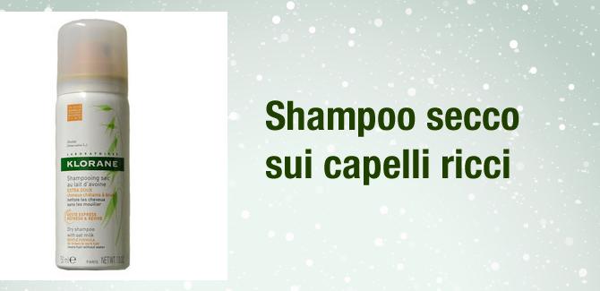 Lo shampoo secco