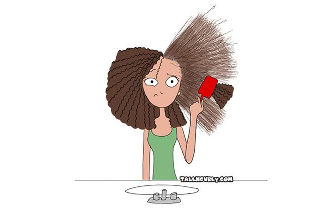 Come pettinare i capelli ricci afro