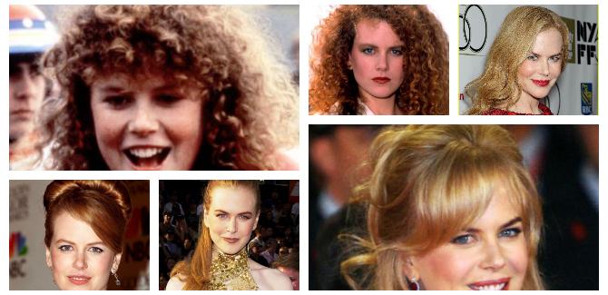 Nicole Kidman: da riccia a liscia. Storia di un'evoluzione