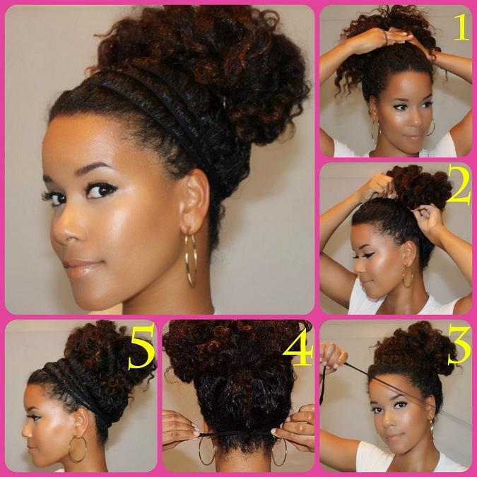 Come fare lo chignon con i capelli ricci