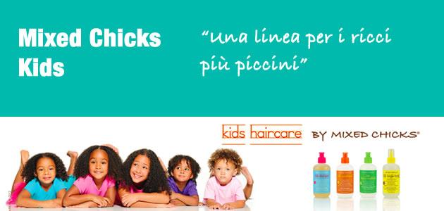 """La Linea """"Kids"""" di Mixed Chicks per bambini ricci e afro"""