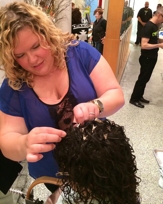 Volume ai capelli ricci
