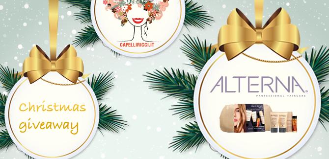 Giveaway di Natale: 3 prodotti Alterna per 3 ricce/i