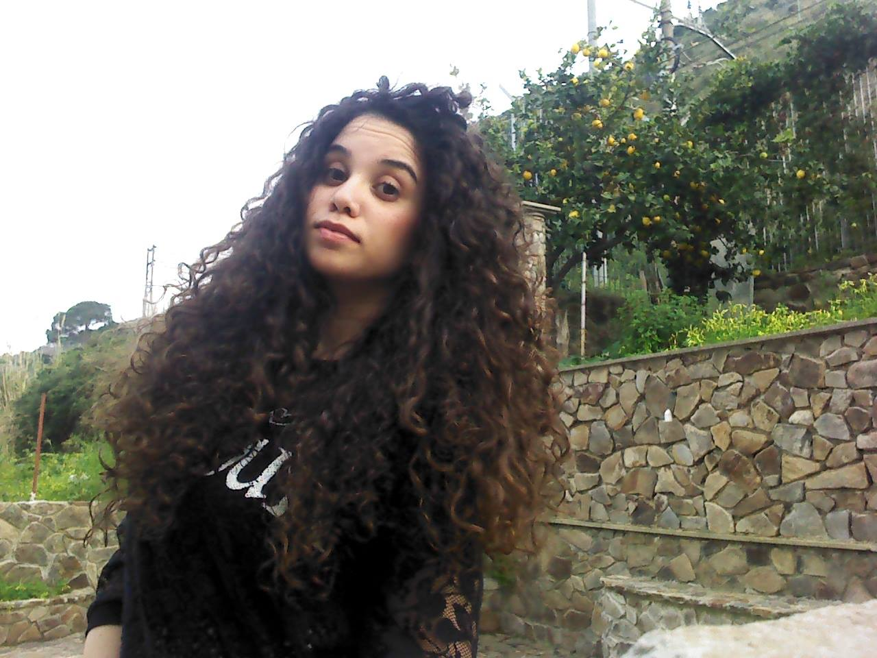 La curly routine di Carmen  l amido di mais ottimo alleato 2b73be63b869